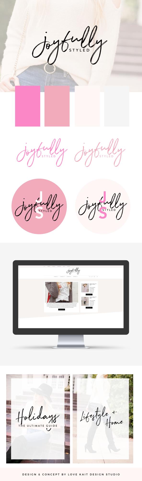 Branding & Web design for Bloggers