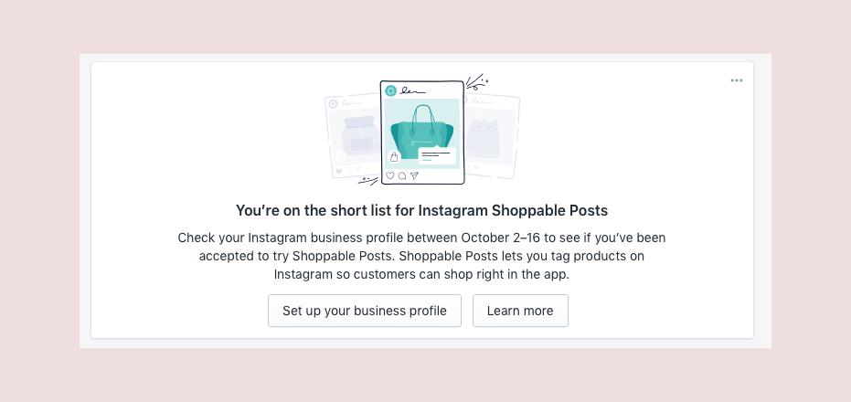 shoppable shopify instagram posts