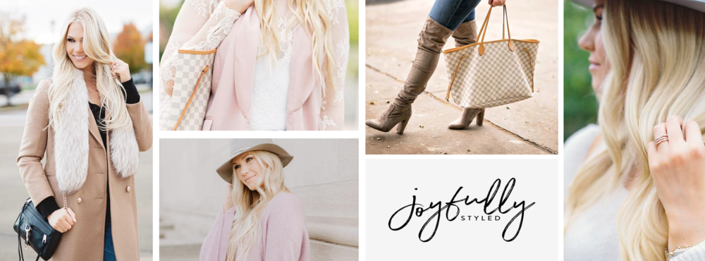 Joyfully Styled | Blog Moodboard & Branding