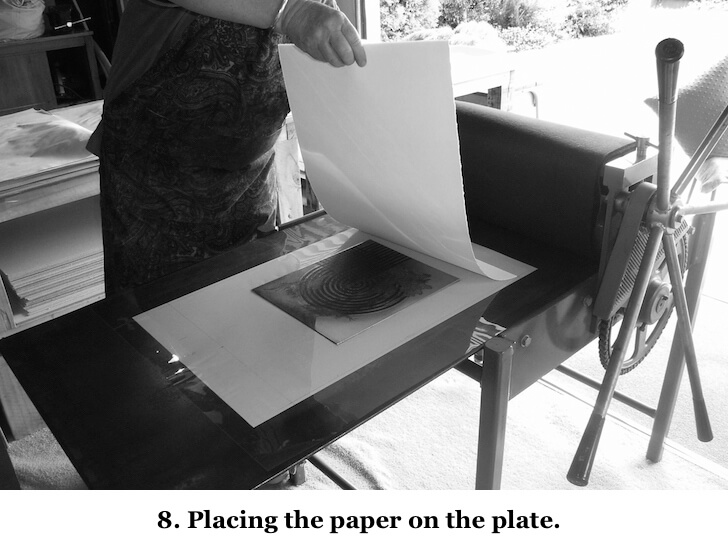 8 Placing paper on plate .jpg