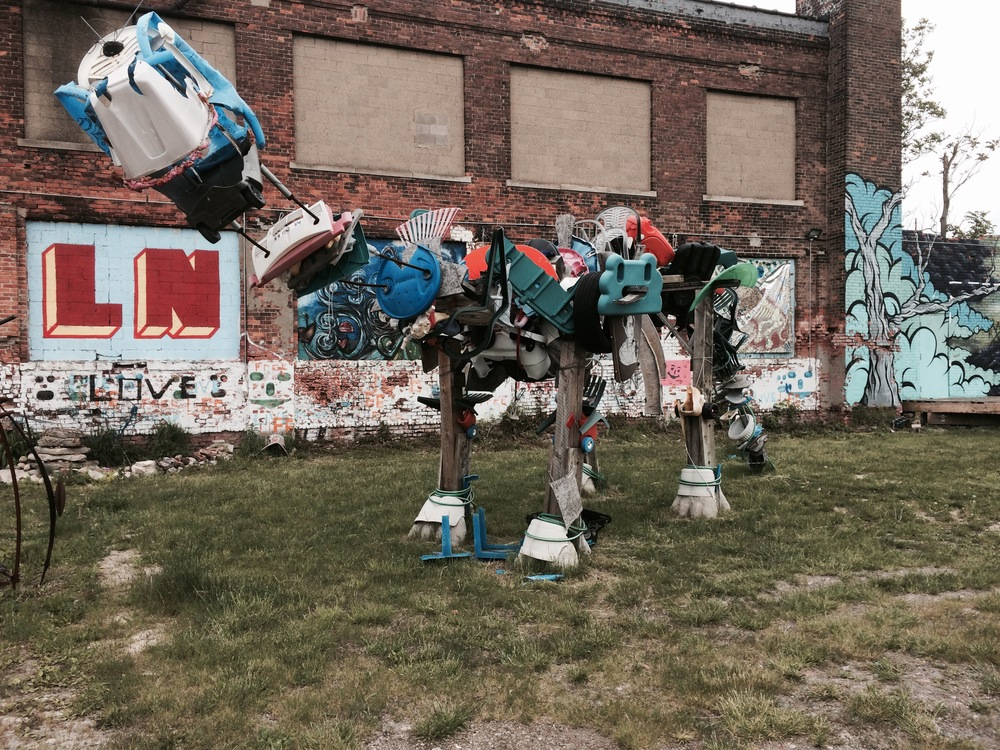 Lincoln Street Art Park , part of the 2015 Techno Tour.