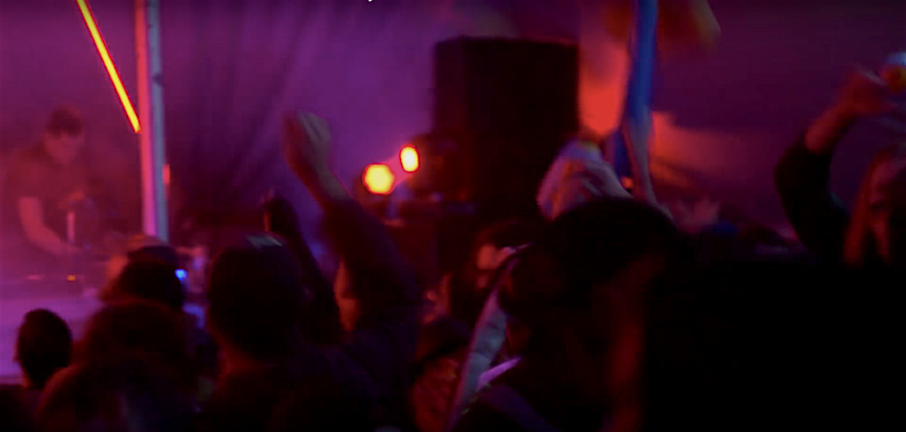 In the midst of it all. Screen shot from Even Furthur 2016 recap video.