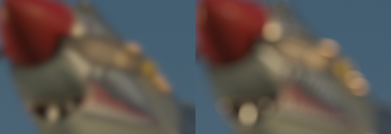 Blur vs Defocus