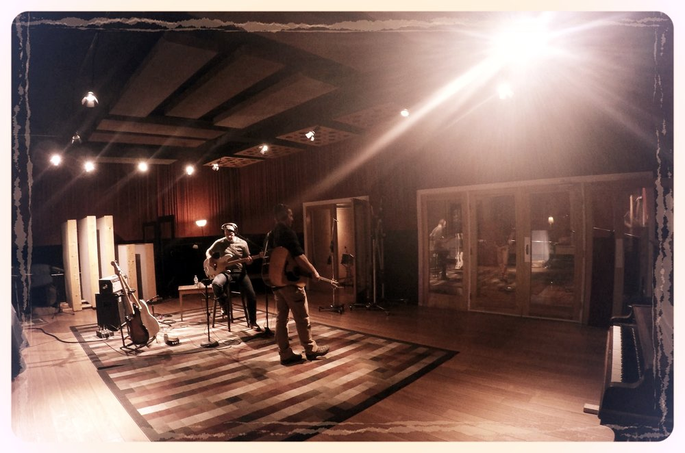 Music Shed Studio, New Orleans, LA - Tracking for 'Homeward'