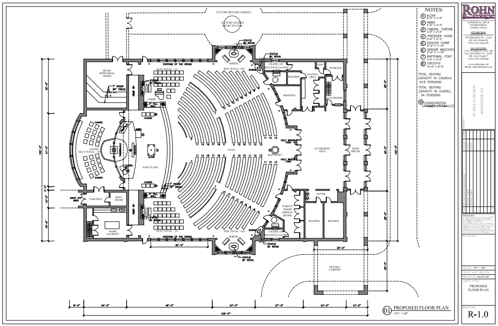 Church designs and floor plans church conversion into a for Church floor plan designs