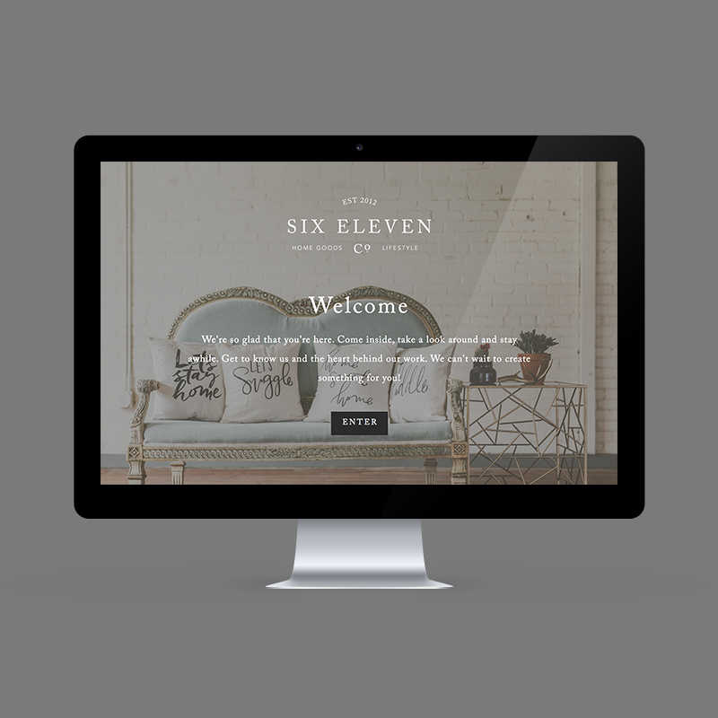 Six Eleven Co.   – Branding & Website –