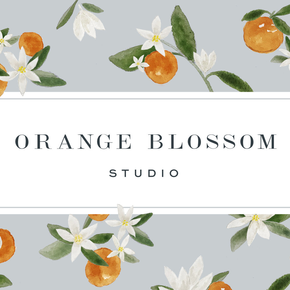 Orange Blossom Studio  – Branding & Website (Coming Soon) –