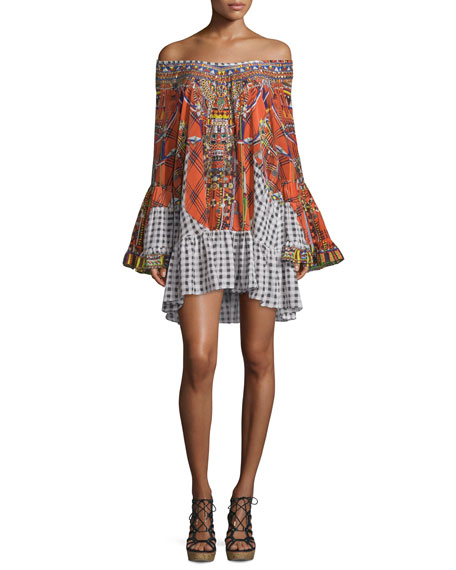 Not much has to be said about this dress, it speaks for itself. Featuring a stunning combination of colours, the Tartan Trance A-Line Frill Dress is a dress every girl must wear at least once.  RRP: $599.00