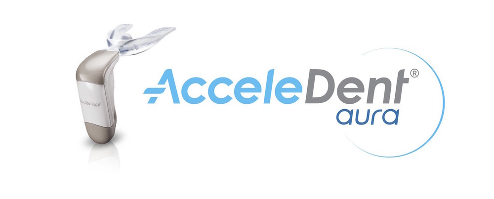 AcceleDent logo and picture