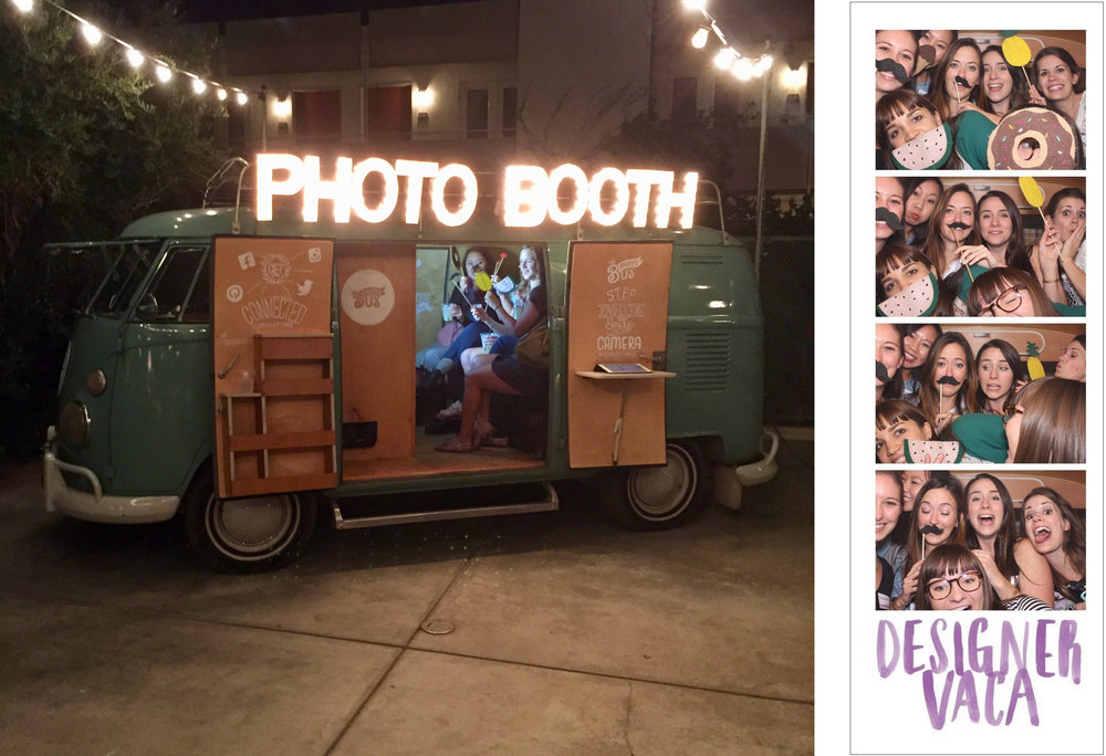 I can't say no to a photo booth with props.