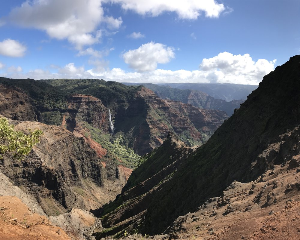 Waimea Canyon Elevator Pitch: Like the wild west, but prettier.