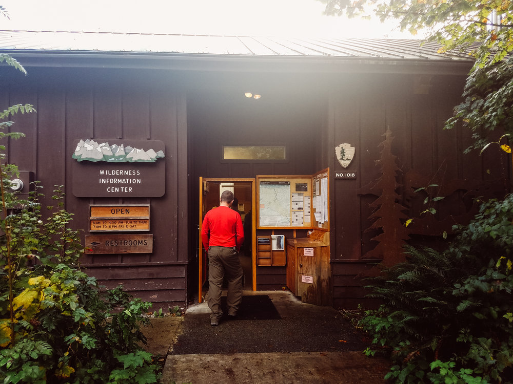 You MUST get your permits first at the ranger station in Marblemount, WA.