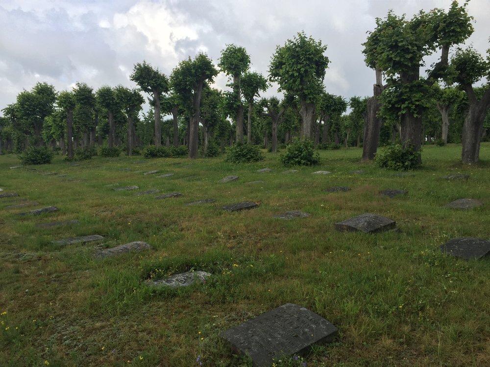 Moravian gravesite