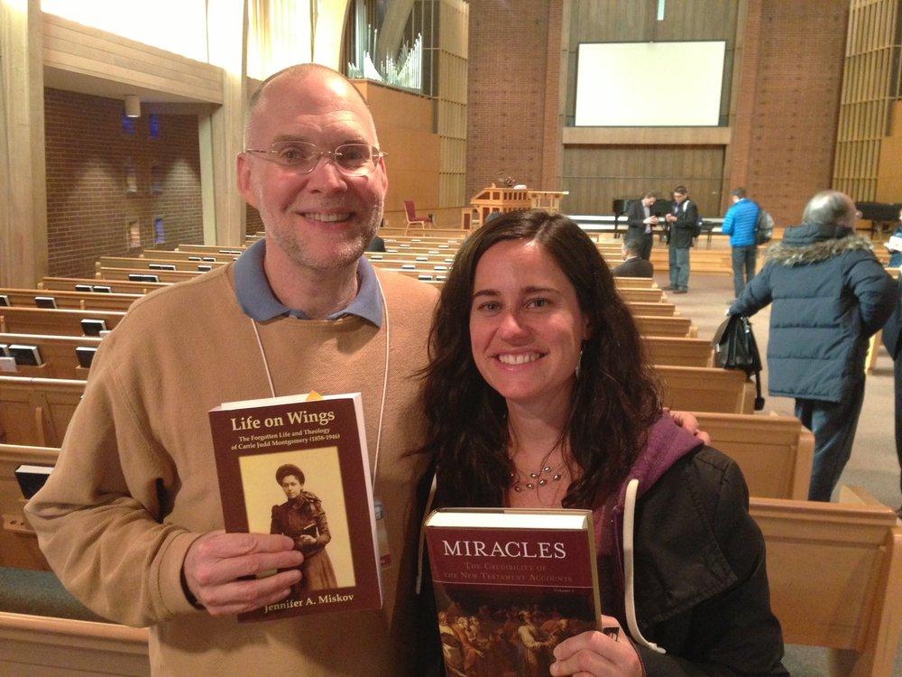 This is a picture of me and Craig when I met him for the first time at S.P.S. in 2013. We are exchanging each others' books here.