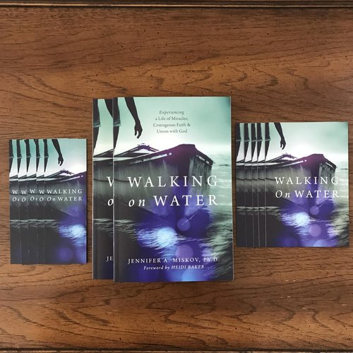 Help Launch Walking on Water - With a minimum donation of $50 or more and you will receive 2 Personalized Autographed copies of the book (one for you and one to give to a friend),5 exclusive postcards and 5 bookmarks as a way of saying thank you for your support. For USA only. If you would like to purchase a single (not autographed) copy from anywhere around the world,you can do so on Amazon, Barnes & Noble, or Baker Books.