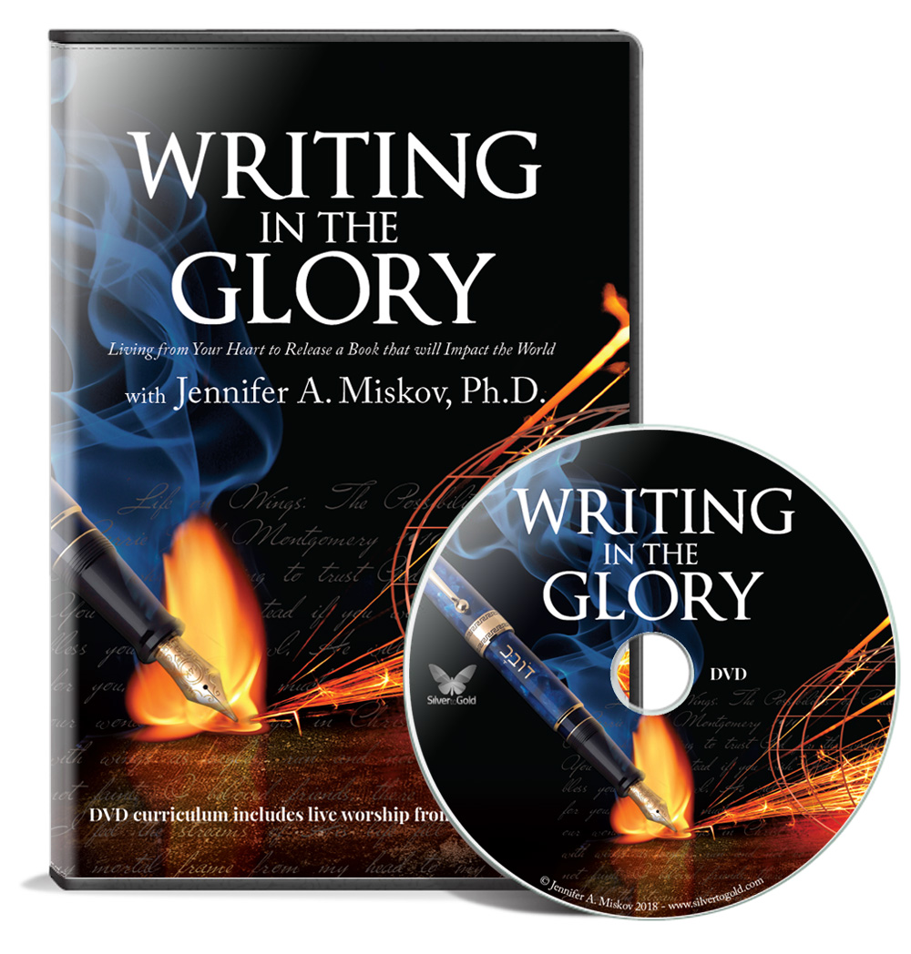 Writing in the Glory DVD Curriculum $60 (reg. $89) Includes 3.5 hours of footage with over 30 teachings and 25 Activations as well as a bonus worship session at Destiny House. Goes along with the  workbook .