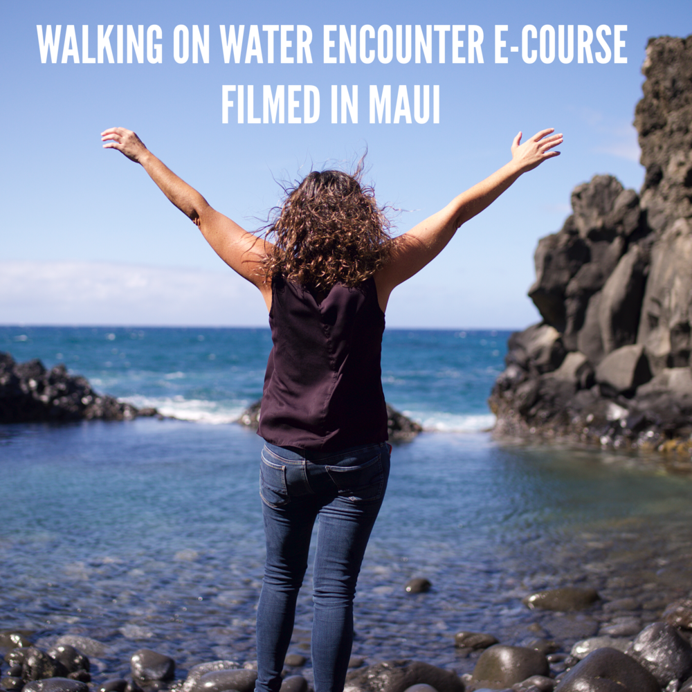 To be led into a fresh encounter with Jesus and a baptism of the Holy Spirit, join Jen on the full   Walking on Water Encounter eCourse   today.