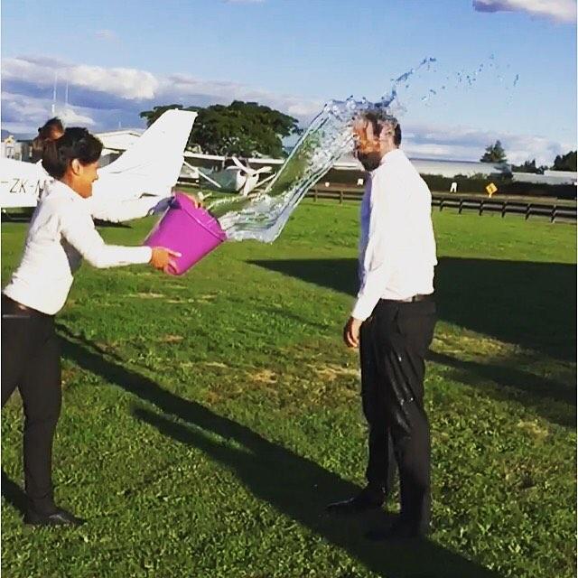 Our student Abhinav Dutta's solo ceremony. #piloteyes #pilotlife #solo #nzaft#c172 #matamata #newzealand #newzealandaviation