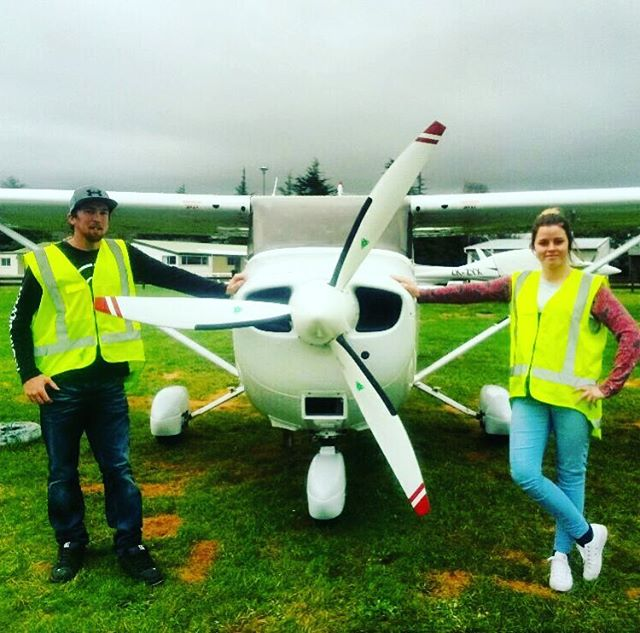 Share your joy of flying with friends and loved ones. Just like Hannah and Greg have, you too can book a trial flight today. Experience the fun of learning how to fly with one of our instructors and have a go at flying the aircraft! More details on our website http://www.newzealandaviation.com/new-page/ #future_aviators #flying #plane #aviation #instaaviation #planepics #newzealandaviation #fun #new #experience #newzealand #passion #pilots #cessna #cessna172 #c172 #matamata