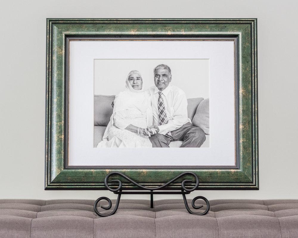 Custom framed fine art print