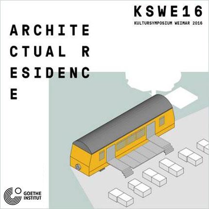 2016.06.01    Kulturzugwagon    Inauguración_Opening  Kultursymposium Weimar 2016  Weimar, Alemania