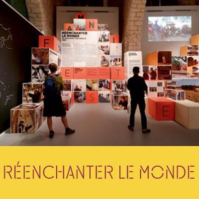 2016.06.04    Réenchanter le Monde    Exposición_Exhibition  Abbaye Royal de Fontevraud  Fontevraud, Francia