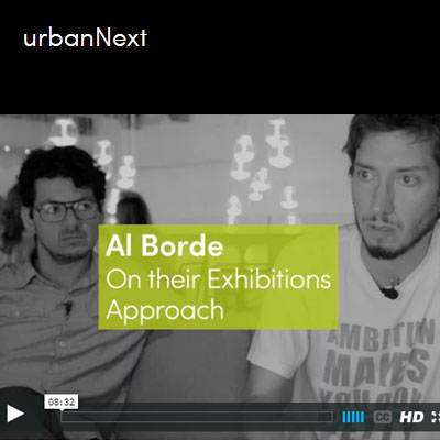 2016.05.25    On their exhibiitons approach    Entrevista_Interview  Southern Coexistence / urbanNext  Venecia_Venice, Italia_Italy