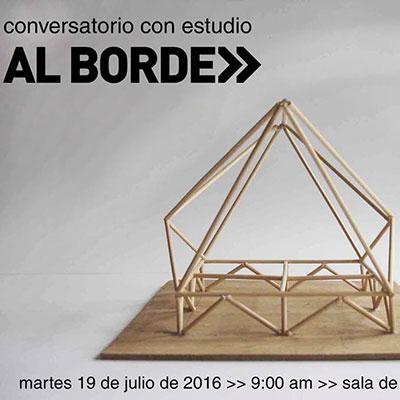 2016.07.19   Conversatorio con   Conversatorio_Debate  Facultad de Arquitectura, Universidad Central  Quito, Ecuador