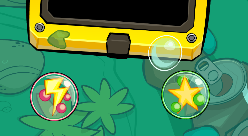 TINY OCEANS: WHIRLPOOL Power-ups & UI /UX Detail