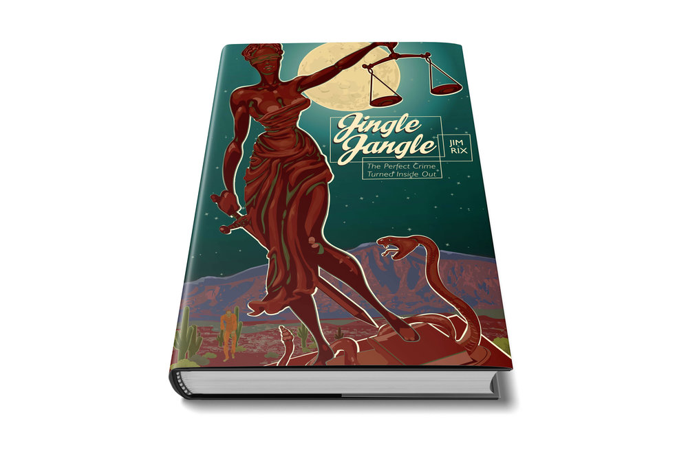 JINGLE JANGLE BY JIM RIX  Book Cover & Logo Design