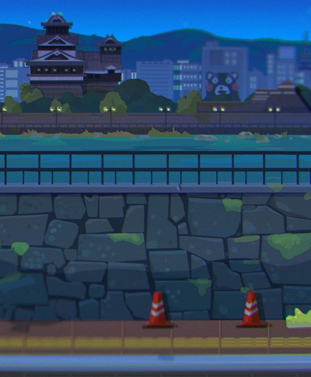 Not exactly #throwbackthursdays here's a #pixelart #backgrounddesign for #mobilege #gamedev #gameart #kumamoto #ゲームアート #熊本 #熊本城 #デザイナー #vectorillustration #adobeillustrator #adobephotoshop #visualdevelopment #touchtouchstudio