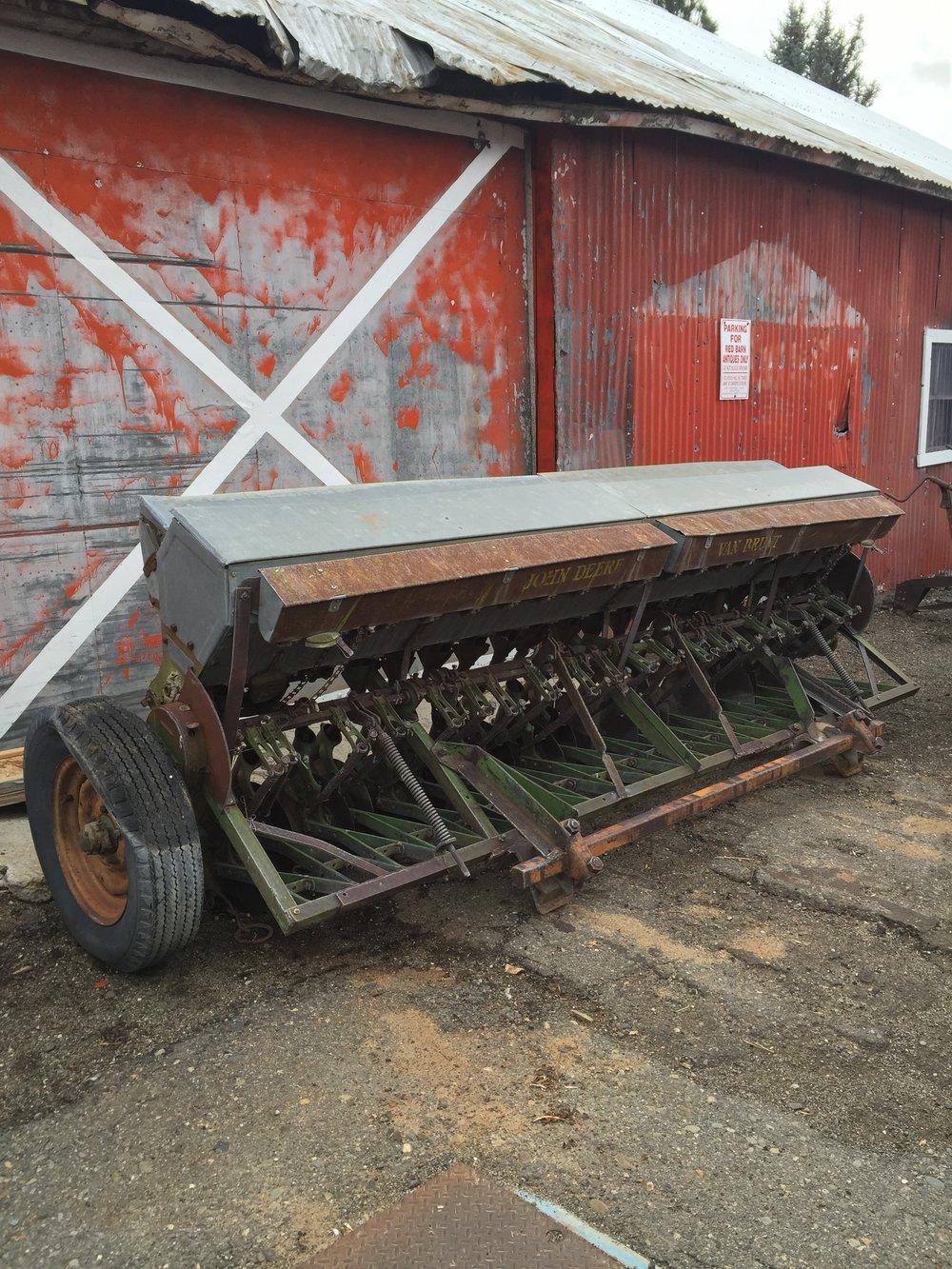 Vintage John Deere Van Brunt Grain Drill/Seeder $500.00