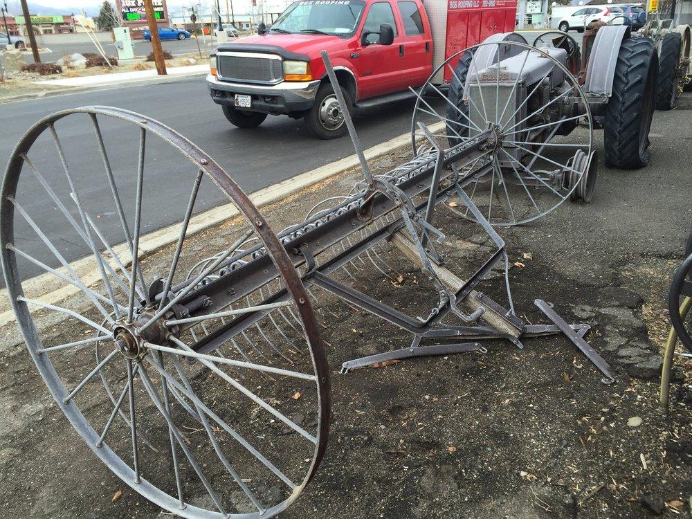 Vintage Hay Rake $450.00