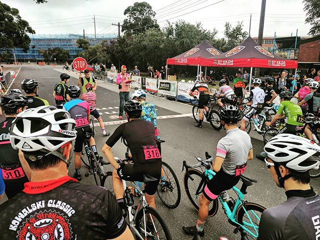 Sunday morning critical racing at @skcc1.  I won my first race!  Then joined the next grade for another race.  What a blast!  I'll be back.  Now time for an #espresso ... #cycling #melbourne #skcc #racing #bike #caffiene #coffee