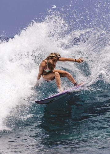 Malia Ward - Pro Surfer