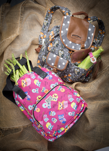Owl Power Backpacks: Betsey Johnson, Union Bay Watch: Jessica Carlyle