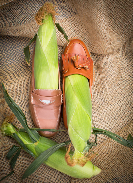 Loafers for Your Corns: (tan) Coach, Wanted (black) Calvin Klein, Bronx