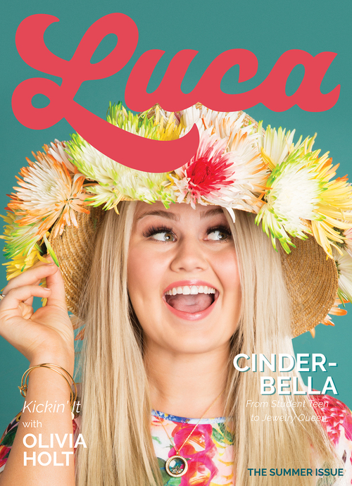 Bella Weens. Cover Girl Luca Magazine