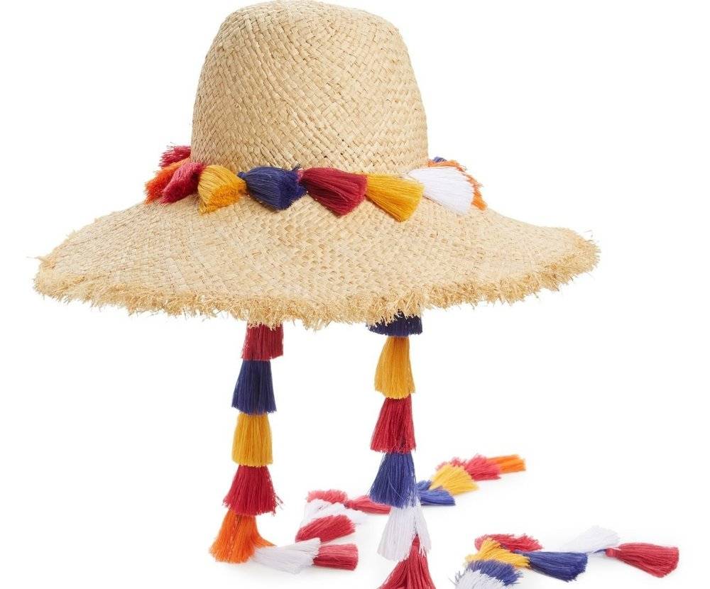 No need to worry of a bad hair day...everyone will have a hat to combat the sun. Tie your tassel on tight and keep the going' with your groove.