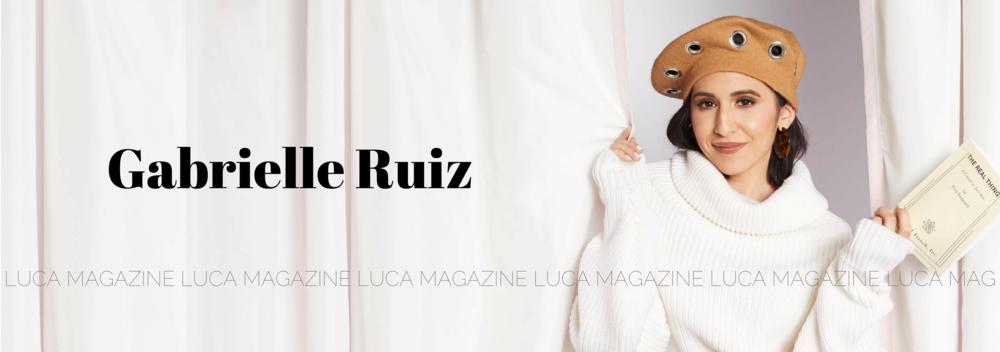 Luca Fall 2018 Gabrielle Ruiz