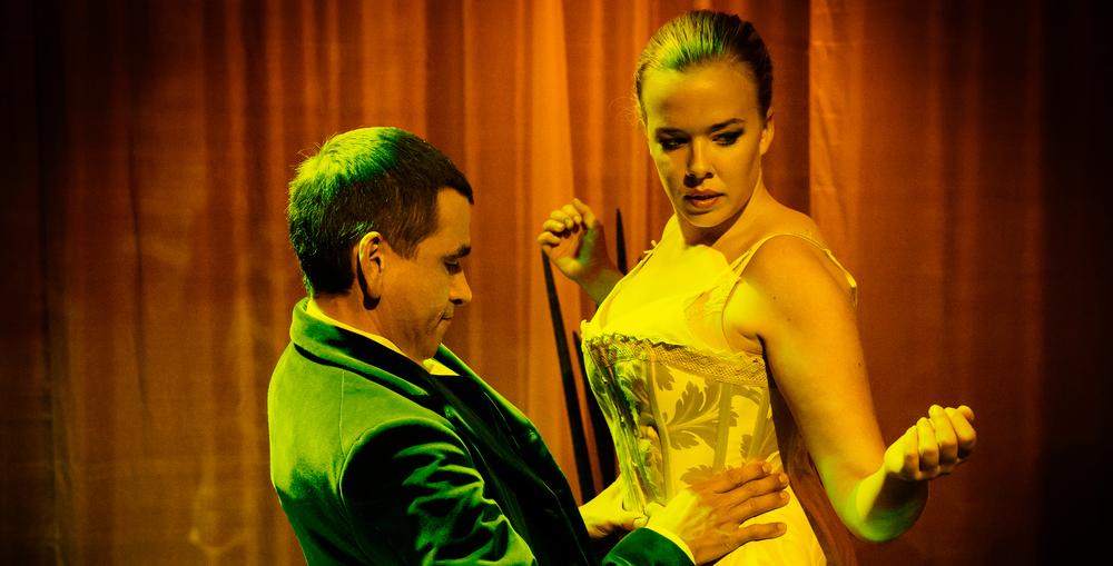 Av Henrik Ibsen. Bearbeidet av Lars Erik Holter.(Foto: Gisle Bjørneby)
