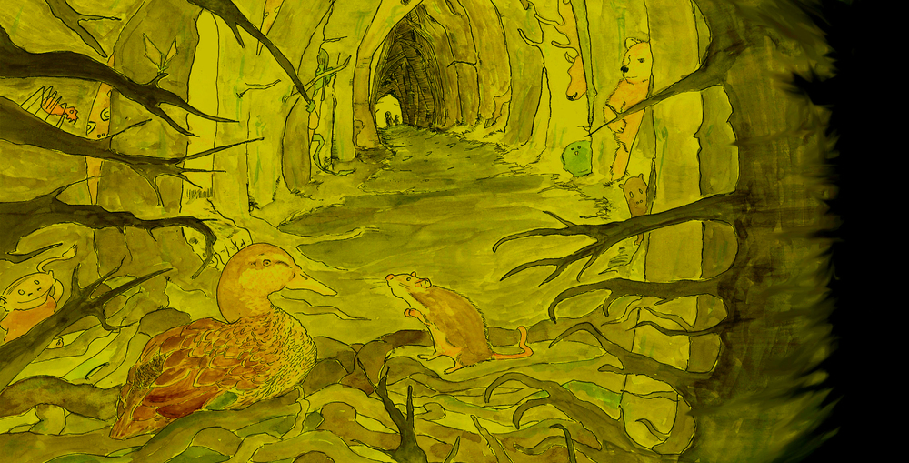 Based on Henrik Ibsen's Little Eyolf and The Wild Duck, adapted by Trine Wiggen.  (Illustration: Fabian Christensen)