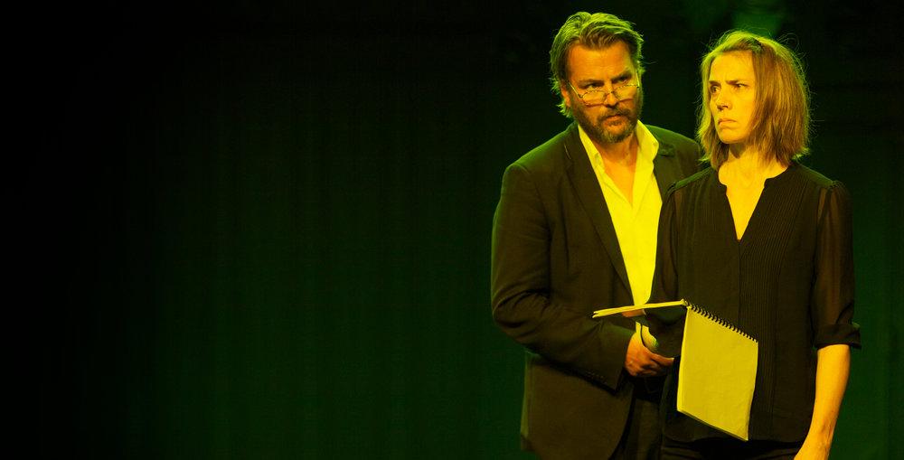 By Cecilie Løveid, Marjun S. Kjelnæs, Peter Asmussen, Paula S. Öhman, Antti Hietala og Sigurð Pálsson. Photo:Husets Teater DK, 2016.