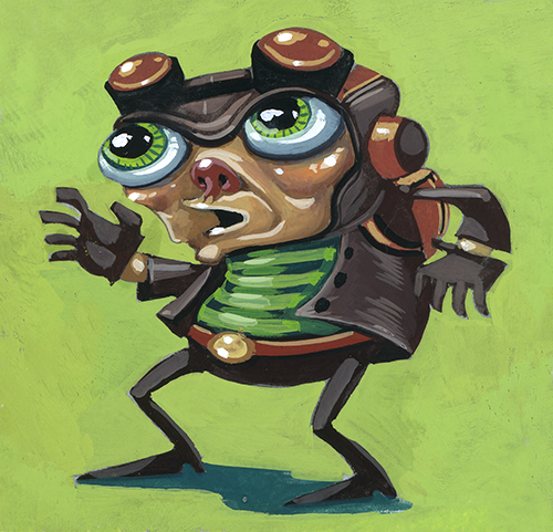 Oh boy, Raz from Psychonauts.  Looking a bit older than last we saw him….