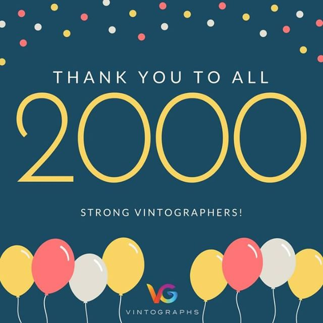 THANK YOU FOR MAKING US 2000+ STRONG :)