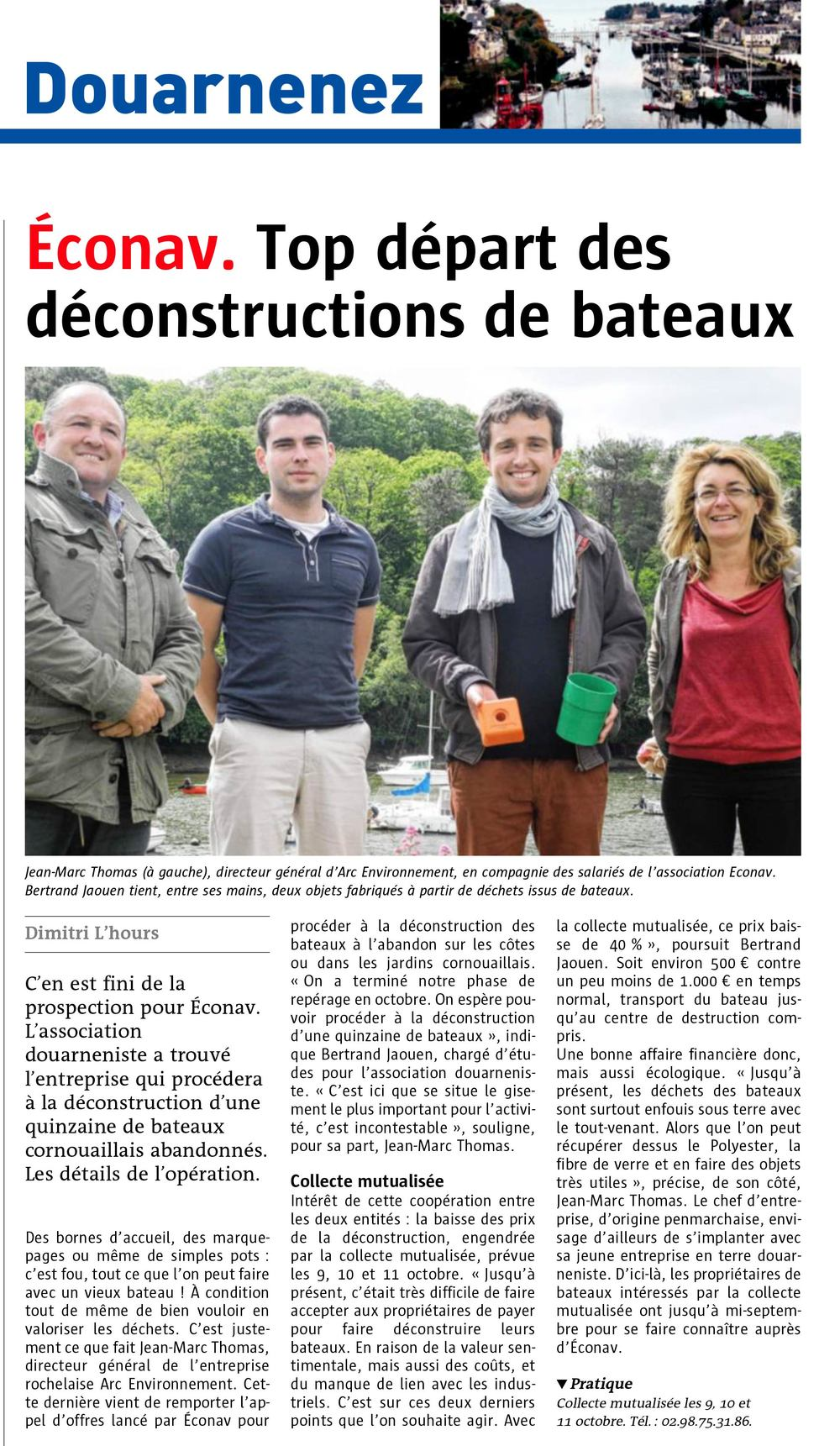 Article-Telegramme-9 juin 2014