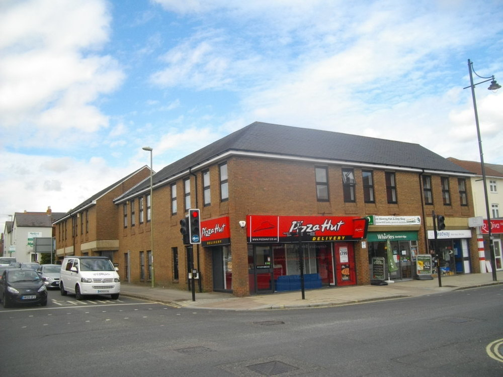 West Street, Fareham – Retails units and flats