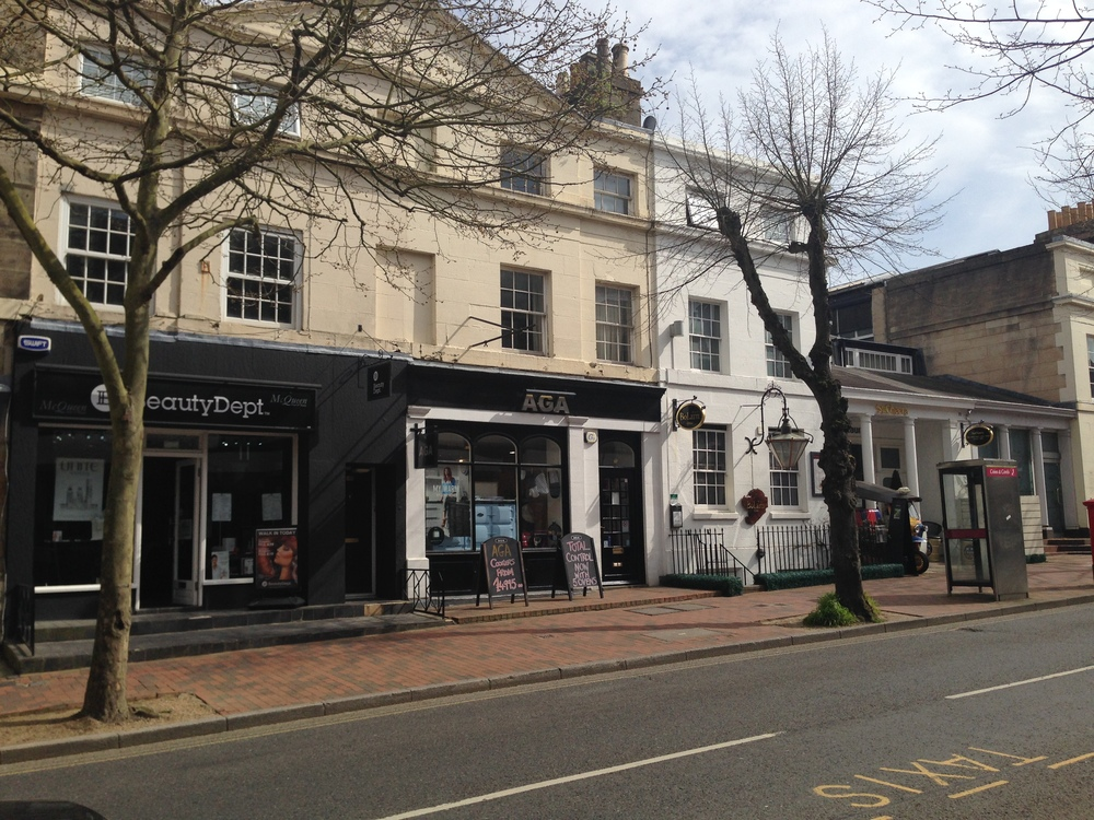 Tunbridge Wells, Kent – Retail and residential building