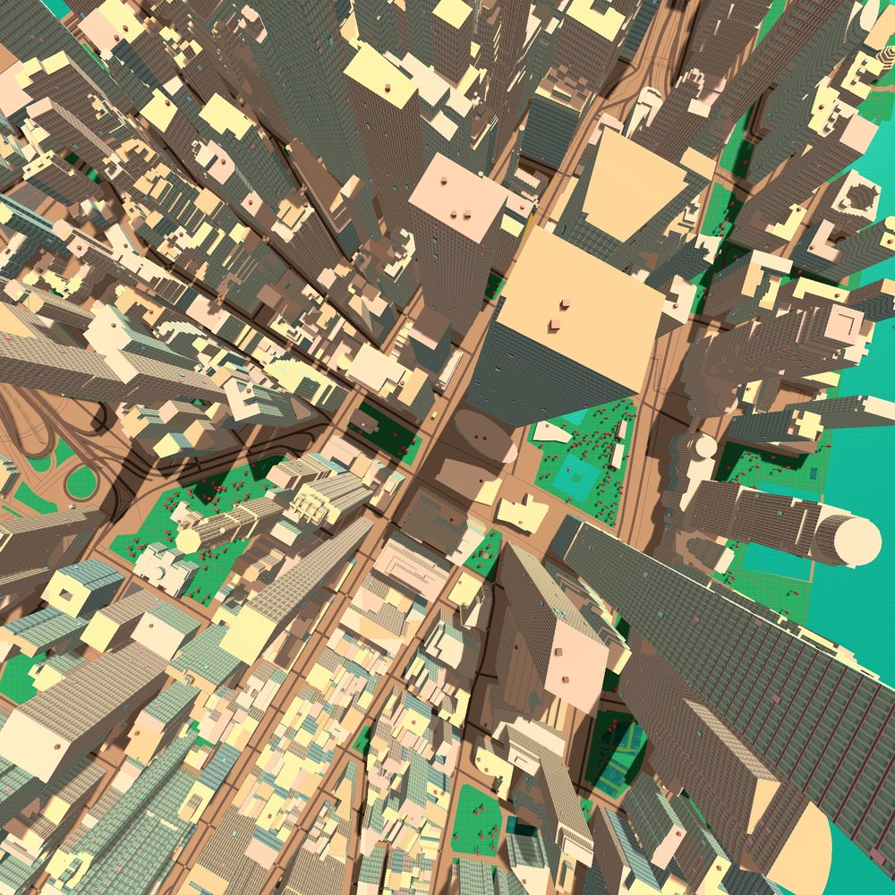 Mapbox Vector Tiles in NYC: building heights, land use, transport systems and more now in Mantle 1.1