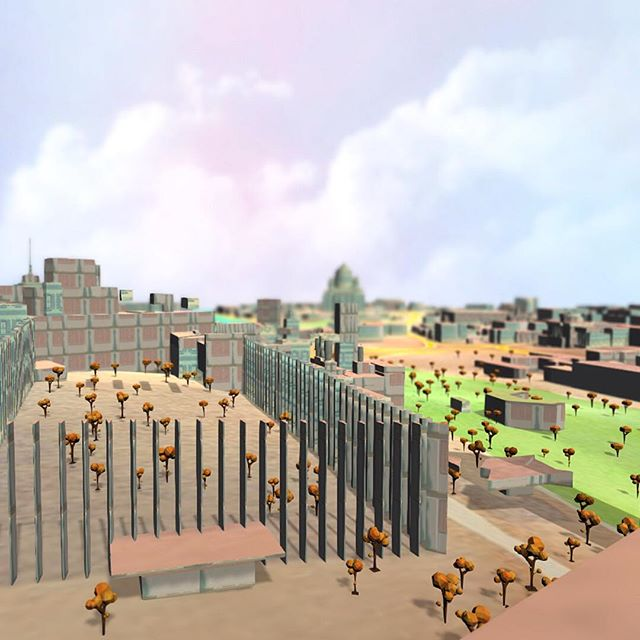 The sunny side of beautiful Moscow monument #mantle3dtech #theme #pushbuttonworlds #indiedev #mantle #style #watercolour #sunny #colourful #world #city #moscow #game #3denvironment #indiegames #monument #vr #ar #runtime #indie #designtime #live #generate #mapping #unity3d #generate #nofilter #doublehashtag #render